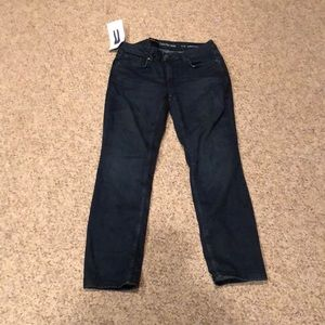 NWT Calvin Klein Ultimate Skinny dark denim jeans